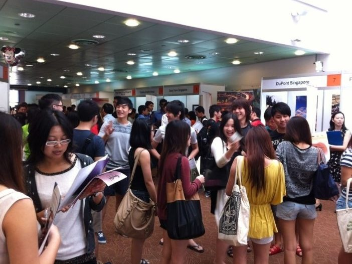 opus-it-temasek-polytechnic-campus-recruitment-fair